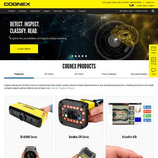 ArchiveBay.com - cognex.com - Cognex - Machine Vision and Barcode Readers