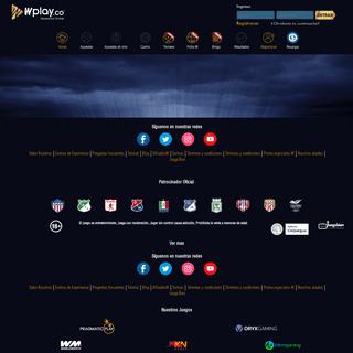 Apuestas deportivas Wplay.co Sitio N°1 apuestas online en Colombia