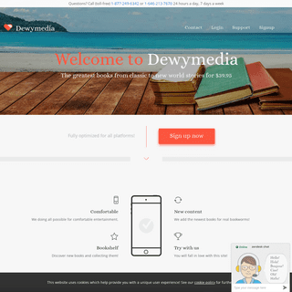 dewymedia.com - Unlimited Books