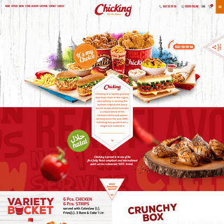 Chicking - rapidly growing fast-food chain in the region - Chicking Delivery