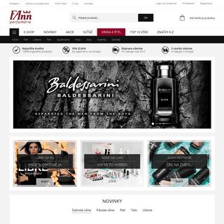 FAnn.sk internetová parfuméria