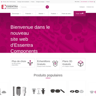 Accueil - Essentra Components FR