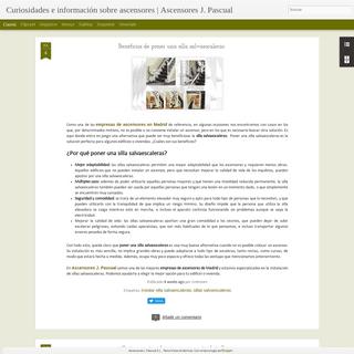 Curiosidades e información sobre ascensores - Ascensores J. Pascual