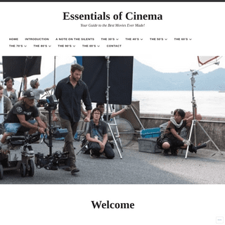 Essentials of Cinema – Your Guide to the Best Movies Ever Made!