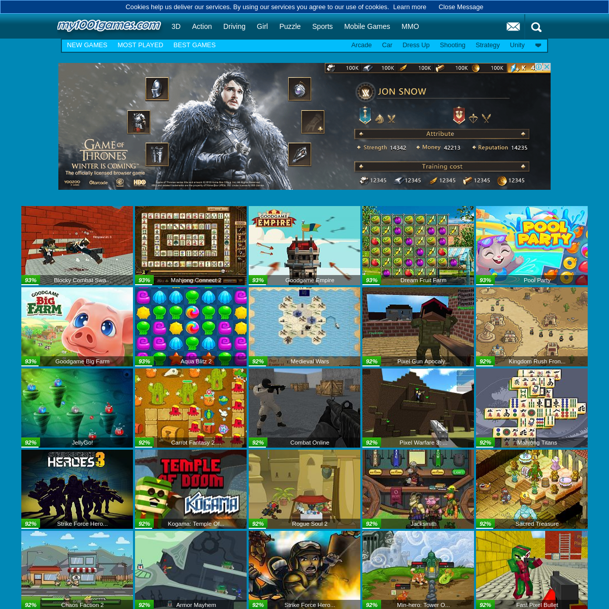 my 1001 games - Play Free Online Games