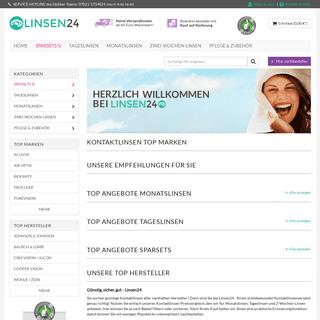Linsen24 - Ihr Kontaktlinsen-Shop