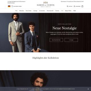 Englische Mode für Sie & Ihn - Hawes & Curtis