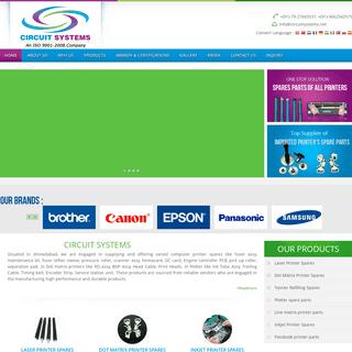 Circuit Systems- Printer, printer Spares Parts Supplier, Ahmedabad, Gujarat, India
