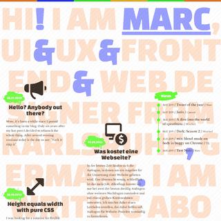 MadeMyDay - Blog UX-UI-Frontend-Webdesign Karlsruhe