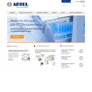 Artel - Trust your results