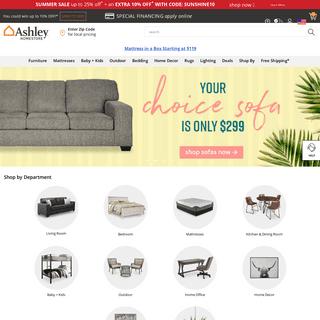 Ashley Furniture HomeStore - Home Furniture & Decor