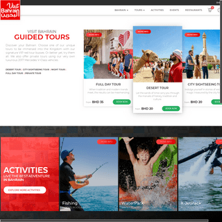 Hotels, Tours, Activities, Events and Things to Do - Visit Bahrain