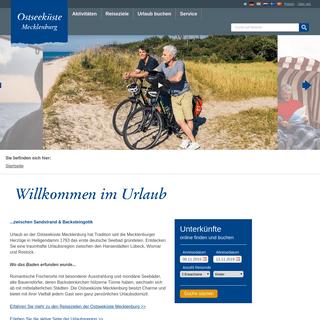 ArchiveBay.com - ostseeferien.de - Ostseeferien an der Ostseeküste Mecklenburg