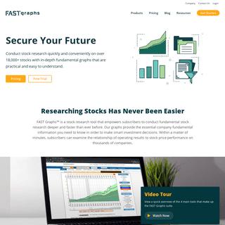 ArchiveBay.com - fastgraphs.com - Secure Your Future - F.A.S.T. Graphs