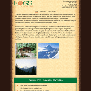 Home - The Logs at Canyon Creek