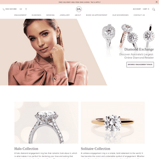 Diamond Engagement Rings & Jewellery - Diamond Exchange