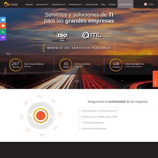 icorp - Servicios, Soluciones y Consultoría de TI para Empresas