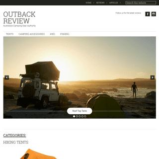 ArchiveBay.com - outbackreview.com.au - Outback Review — Australia's Camping Gear Authority