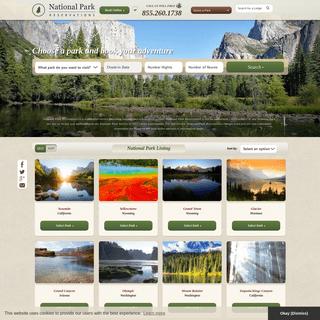 ArchiveBay.com - nationalparkreservations.com - National Park Lodging and Hotels - National Park Reservations.