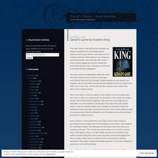 Darryl's Library - Book Reviews - Over 200 book reviews by Darryl Sloan