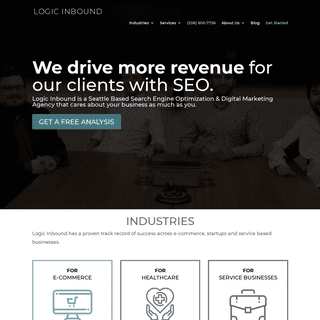 ArchiveBay.com - logicinbound.com - Digital Marketing Agency Seattle - SEO Experts - Logic Inbound