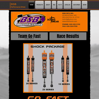 Shock Package - BSB Manufacturing - United States