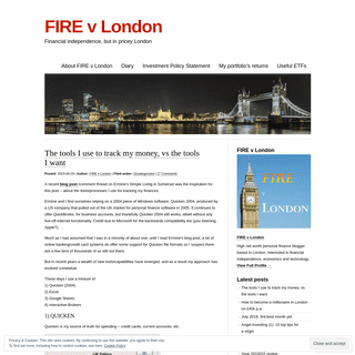 ArchiveBay.com - firevlondon.com - FIRE v London - Financial independence, but in pricey London