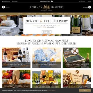 Hampers - Christmas Hampers - Wine Gifts - Regency Hampers