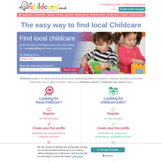ArchiveBay.com - childcare.co.uk - Childcare.co.uk - The easy way to find local childcare