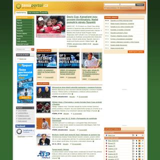 ArchiveBay.com - tenisportal.cz - Tenis portál - tenisové zprávy, výsledky, statistiky, ATP, WTA