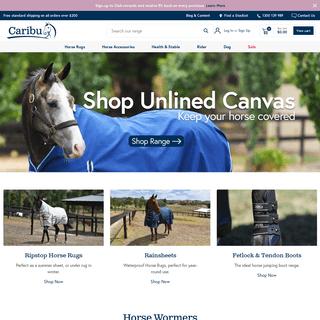 ArchiveBay.com - caribuhorsewear.com.au - Caribu Horse Rugs & Accessories –Caribu Horse Wear