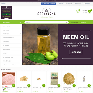 Health Food Store Thailand - Shop online! Health food, super food, organic food, detox, natural and gluten-free products