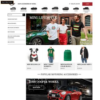ShopMINIUSA.com- MINI Accessories and MINI Lifestyle