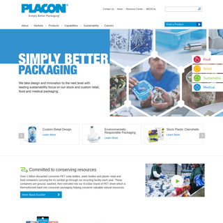 Thermoform Packaging, Medical Trays, Retail Clamshells, Food Containers