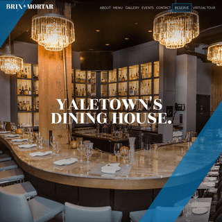 Brix & Mortar -- Yaletown's Only Dining House