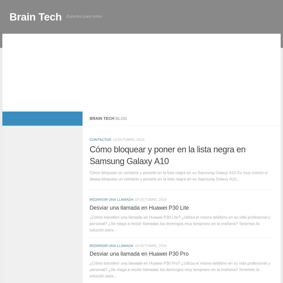 Brain Tech - Expertos para todos
