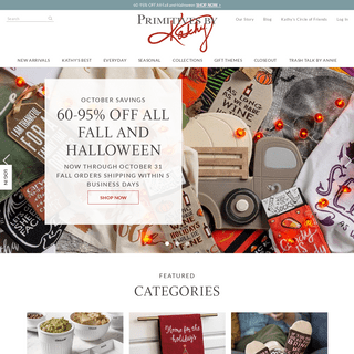 Home Décor - Home Accents - Gift Items - Primitives by Kathy