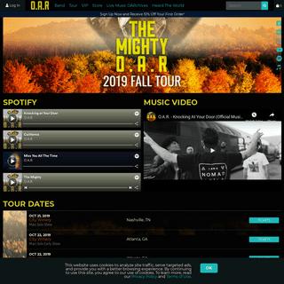 O.A.R. - Official Site