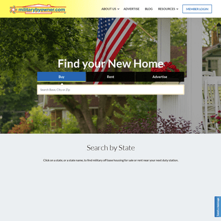 Military Homes for Sale and Houses for Rent - MilitaryByOwner