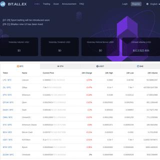 Trading - Bitallex Exchange