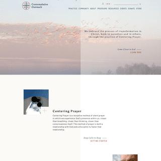 ArchiveBay.com - contemplativeoutreach.org - Contemplative Outreach Ltd. - Silence Solitude Solidarity Service