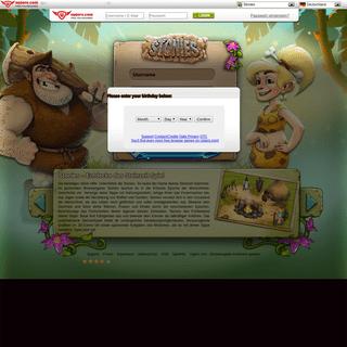 ArchiveBay.com - stonies-game.com - Stonies - Das Steinzeitspiel - Baue deine eigene Steinzeit-Siedlung!