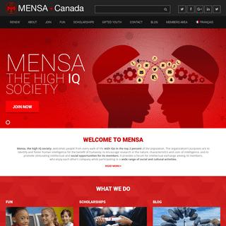 Mensa Canada – The High IQ Society