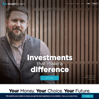 GrowthFunders - Investing for Growth and Impact. Investing for a better future.