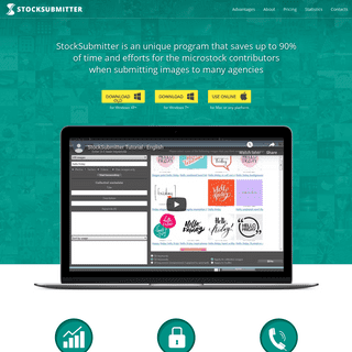 StockSubmitter - The main tool to optimize microstock contributor workflow