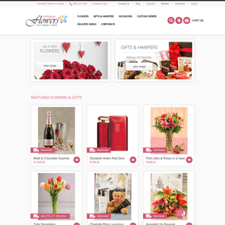 ArchiveBay.com - inmotionflowers.co.za - inMotion Flowers - Send Flowers, Hampers & Gifts to South Africa