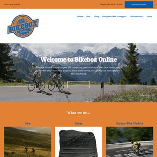 Bikebox Online - Hiring bike boxes, velovault hire and sales, and Europe Bike Shuttle – Van transport service covering sportiv