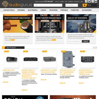 Home Theater, Speakers, Receivers, HDTV - Audiogurus Store