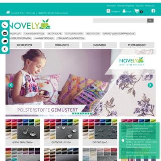 Stoffe online kaufen • Damit Ideen wirken - NOVELY®