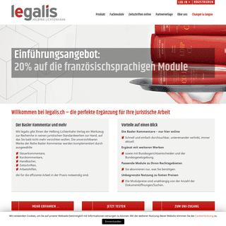 legalis – Die Basler Kommentare online